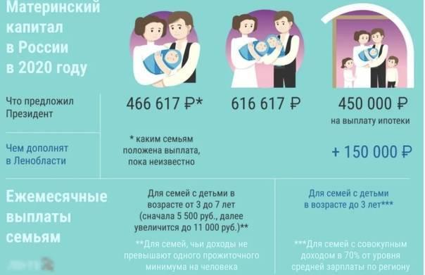 Что дают за 3 ребенка в россии: какую помощь оказывает государство
